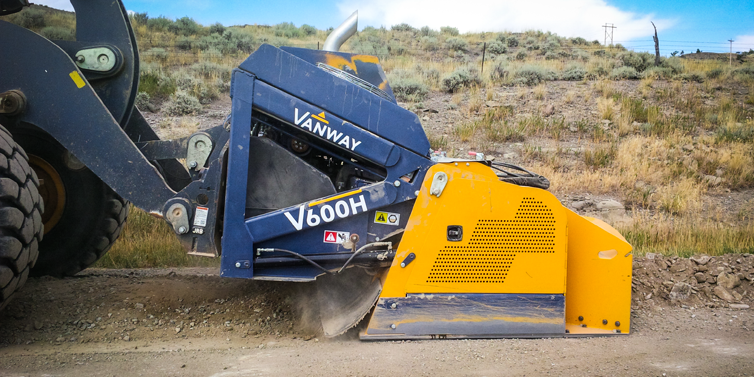Vanway v6000H Crusher in Action